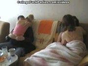 Порно студенты дома русские